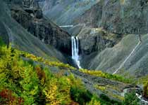 长白瀑布 Changbai Waterfall