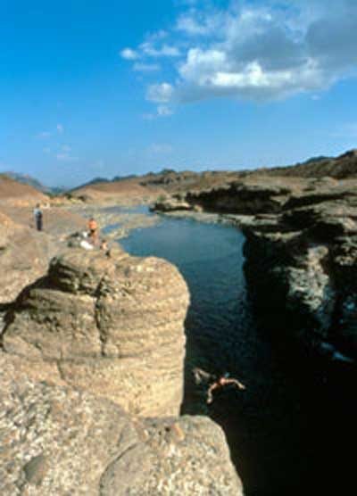 哈达岩池 Hatta Rock Pools